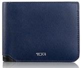Tumi Men's Leather Wallet - Blue