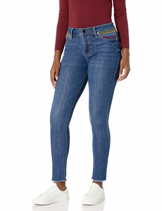 Seven7 Women's High Rise Hollywood Ankle Skinny