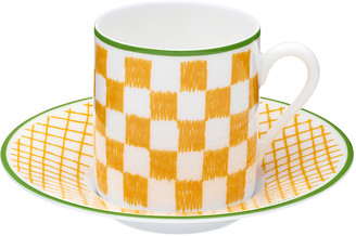Hermes A Walk in the Garden Coffee Cup & Saucer