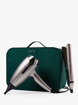 Thumbnail for your product : ghd Hair Styling Gift Set with Platinum+ Hair Straighteners & Helios Hair Dryer, Pewter
