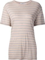 Alexander Wang striped shortsleeved T-shirt