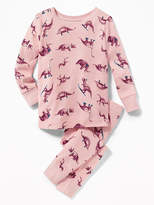 Old Navy 2-Piece Dinosaur-Print Sleep Set for Toddler & Baby