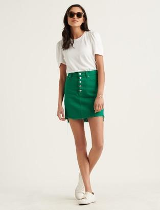 Lucky Brand Mid Rise Mini Skirt