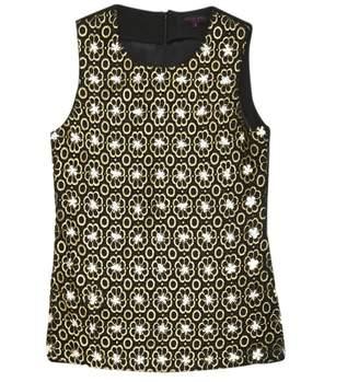Manish Arora Black Cotton Top for Women