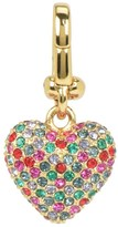 Juicy Couture Pave Multi Stone Heart Charm