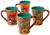 Tracy Porter Eden Ranch Set of 4 Mugs