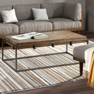 Madison Home USA Harrison Reclaimed Natural Cocktail Table