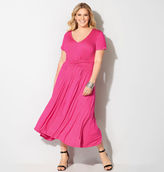 Avenue Twist Front Maxi Dress