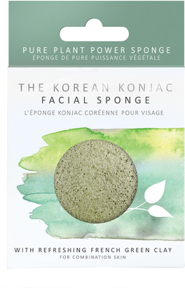 The Konjac Sponge Company 100% Natural Vegetable Fibre Sponge With French Green Clay