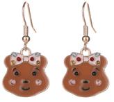 George Children in Need Blush Bear Earrings
