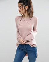 Only Orleans High Low Knit Sweater