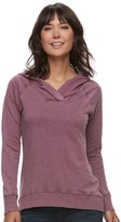 SONOMA Goods for Life Women's SONOMA Goods for LifeTM Hooded French Terry Sweater