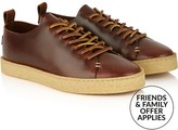 Yogi Men's Rufus Cup Sole Leather Trainers