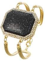 ABS by Allen Schwartz Pave Frame Flex Bracelet