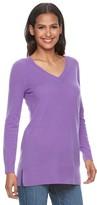 Apt. 9 Women's V-Neck Cashmere Sweater