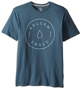 Volcom Simple Short Sleeve Tee (Big Kids)