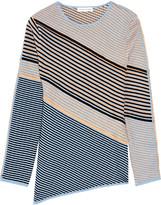 Jonathan Saunders Jade textured cotton-blend sweater