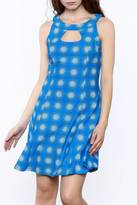 Aryeh Blue Sunburst Dress