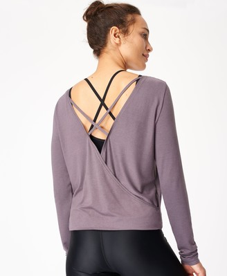 Sweaty Betty Tranquil Yoga Long Sleeve Top