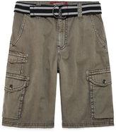 Arizona Belted Twill Cargo Shorts - Boys 8-20
