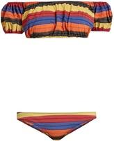 Lisa Marie Fernandez Leandra striped bikini