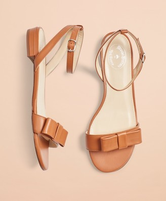 Brooks Brothers Leather Sandals