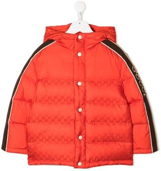 Gucci Kids GG Supreme padded jacket