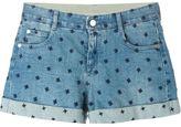 Stella McCartney denim shorts - women - Cotton/Spandex/Elastane - 26