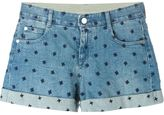 Stella McCartney denim shorts - women - Cotton/Spandex/Elastane - 27