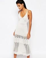 Moon River Knitted Midi Dress