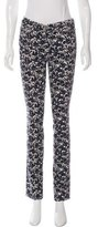 Tory Burch Blaire Floral Print Jeans w/ Tags