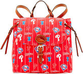 Dooney & Bourke MLB Phillies Flap Backpack