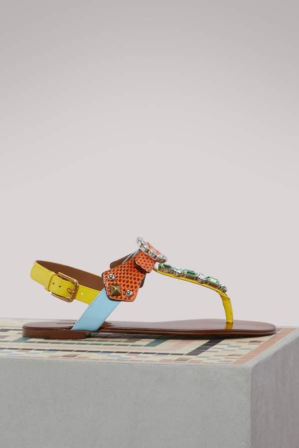 Dolce & Gabbana Capri sandals