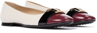 Tod's Leather ballet flats