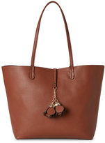 Imoshion Cognac & Red Bag-In-Bag Reversible Tote