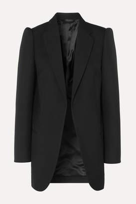 Balenciaga Wool-gabardine Blazer - Black