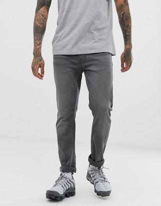 Burton Menswear slim jeans in grey
