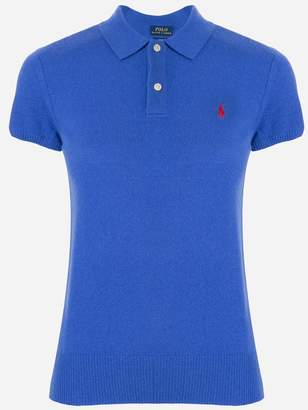 Polo Ralph Lauren ribbed knit polo top