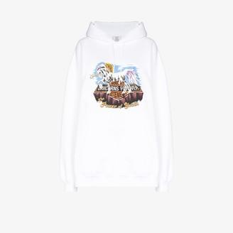 Vetements Magic unicorn-print hoodie