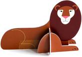 STUDIO ROOF Lion Construction Card