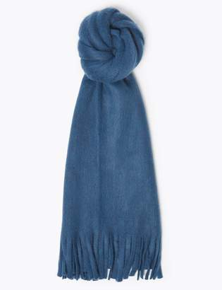 M&S CollectionMarks and Spencer Brushed Knit Scarf