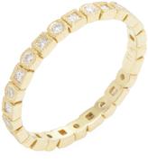 Ila Women's Tasmin 18K Yellow Gold & 0.44 Total Ct. Diamond Eternity Band Ring