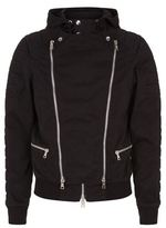 Balmain Double Zip Cotton Jacket