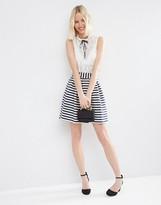 Asos Mini Prom Skirt in Stripe