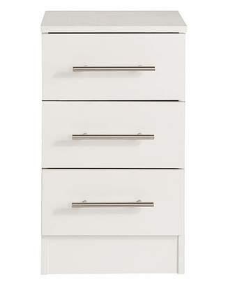 Marisota Helsinki Three Drawer Bedside Cabinet