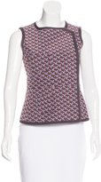 M Missoni Silk Sleeveless Top