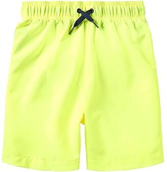 Speedo Kids Redondo Volley Shorts (Little Kids/Big Kids) (Blue Lemonade) Boy's Swimwear
