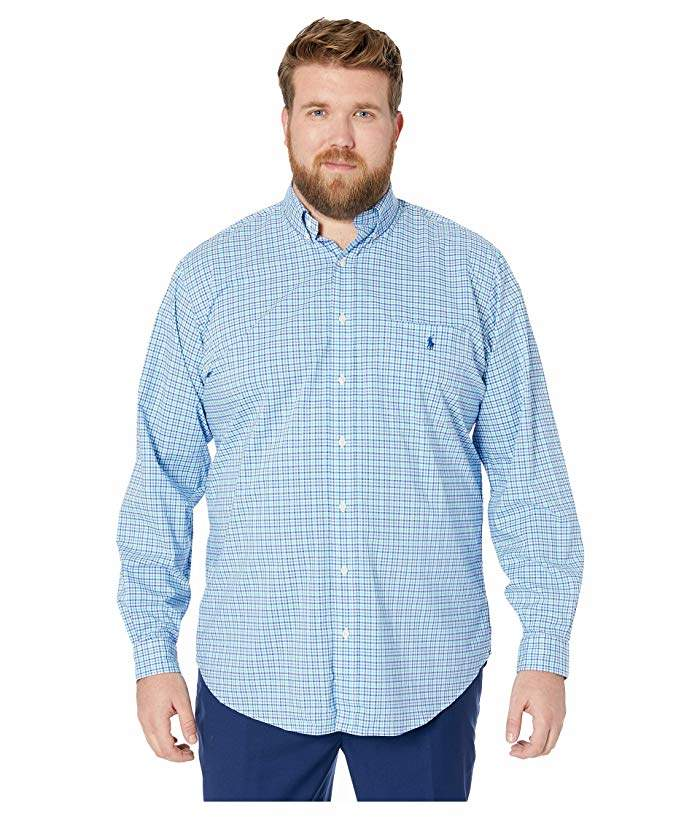 989c0e4eb Mens Tall Ralph Lauren Long Sleeved Shirt - ShopStyle