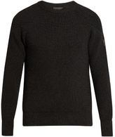 Belstaff Dunnington Wool Ribbed Sweater
