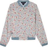 Ralph Lauren Floral cotton bomber jacket 7-14 years
